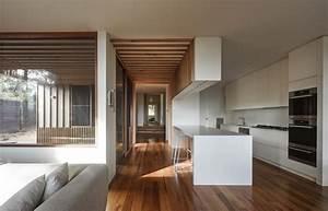 Maison Americaine Interieur : maison contemporaine brighton en australie cuisine ~ Zukunftsfamilie.com Idées de Décoration