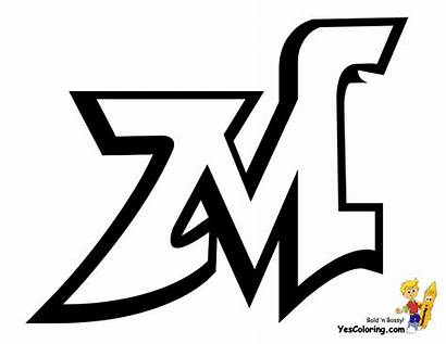 Graffiti Coloring Printables Pages Tag Alphabet Letters