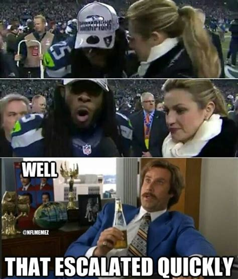 Seattle Meme - 15 hilarious sometimes quot politically incorrect quot richard sherman memes richard sherman