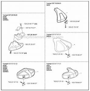 Husqvarna 323l Parts List And Diagram