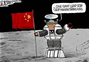 China joins space race, U.S. quits: Editorial cartoon ...