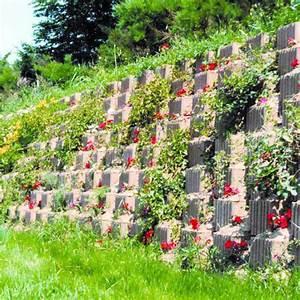 Mur De Fleurs : bac b ton pour mur de sout nement fleurir muroflor tartarin ~ Farleysfitness.com Idées de Décoration