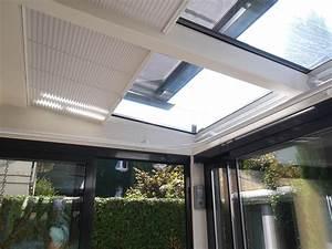 Sonnenschutz Terrassenüberdachung Innenbeschattung : dachbeschattung innen glasd cher im innenbereich beschatten ~ Orissabook.com Haus und Dekorationen