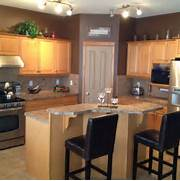 Paint Colors For Light Kitchen Cabinets by Maple Kitchen Cabinets And Wall Color Kitchen Remodel Idea For The Home