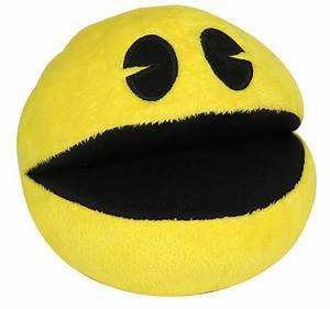 Pac Man and Ghost plush toys product review (from Goldie
