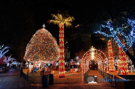 el paso christmas lights photo of the week christmas lights in san jacinto plaza