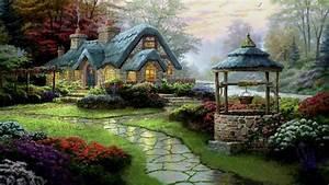 Beautiful, English, Cottage, Hd, Cool, Wallpaper, Free ...
