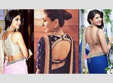 22 Beautiful Back Designs for Your Saree Blouses That Will