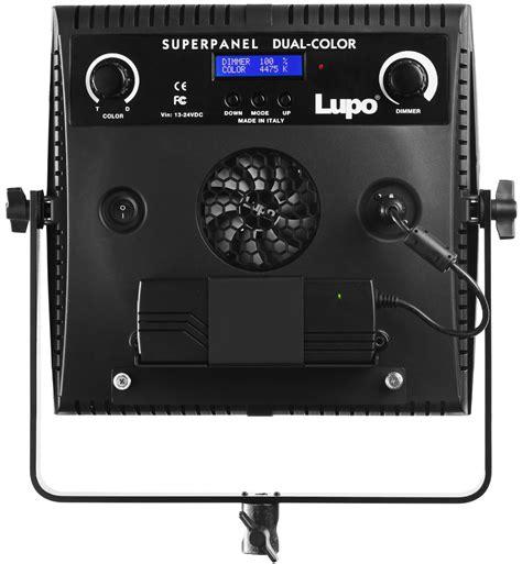 lupo illuminatori lupo superpanel dc 400 soft light a led bicolor