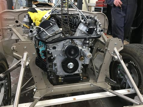Jaguar E-type V12 Engine Re-fitted