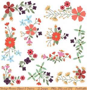 Vintage Flower Clip Art Free