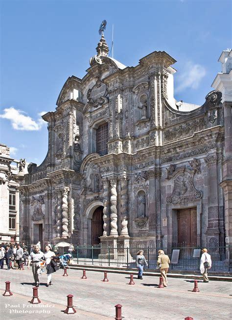 la iglesia de la compania de jesus quito ecuador flickr