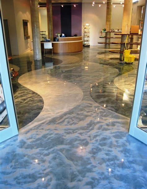 metallic metallic epoxy floor coating pictures