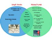 compare  contrast single stocks  mutual funds