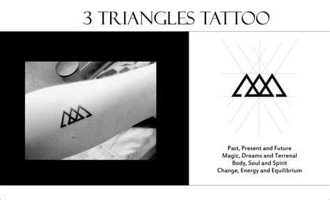 3 triangles meaning