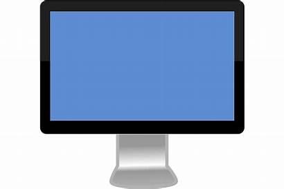 Computer Screen Monitor Clipart Clip Mac Diagram
