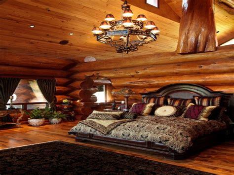 beautiful log cabin bedrooms log cabin master bedroom  bedroom log cabins treesranchcom