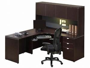 Corner desk with hutch jha150 by office source 89500 for Letter desk with hutch