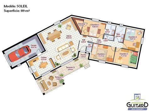 plan interieur maison gratuit plan maison interieur maison moderne