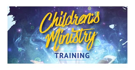childrens ministry training dublin september