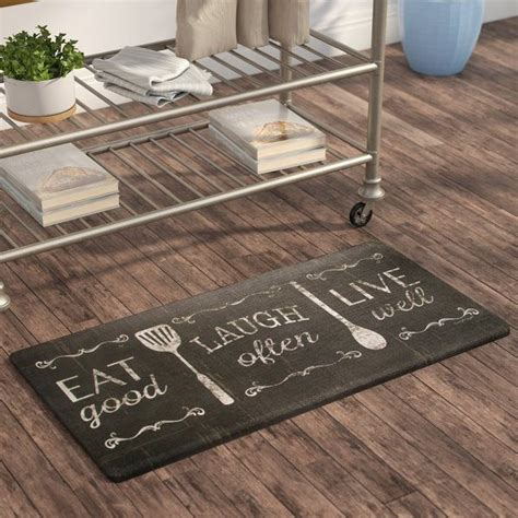 super cool kitchen mats  rugs  add  touch  color