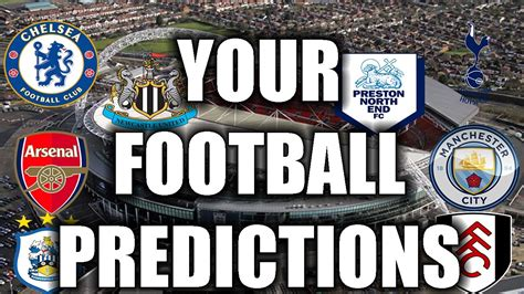 FA CUP SEMI FINALS! YOUR FOOTBALL PREDICTIONS! - YouTube