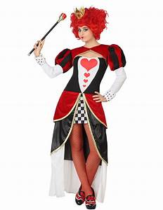 Queen of Hearts dress costume for women: Adults Costumes ...