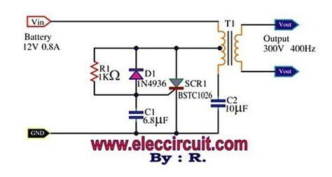 Mini Power Inverter Using Scr