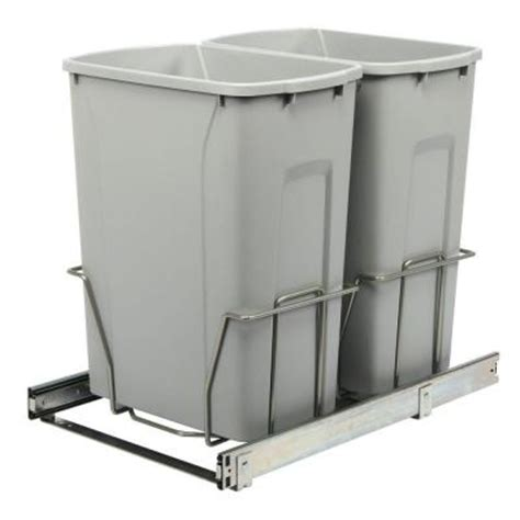 Cabinet Trash Can Home Depot by Knape Vogt 18 75 In X 14 38 In X 22 57 In In Cabinet