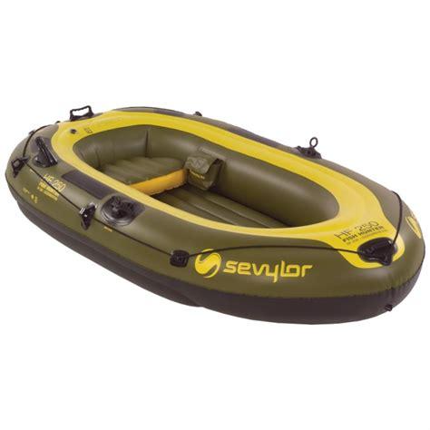 Inflatable Boat Fish Hunter by Sevylor 174 Fish Hunter 4 Person Boat 174623 Boats At
