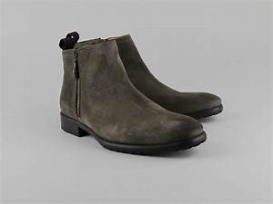 Chaussures Atelier Voisin / NAXI / Boots Taupe Croute ...