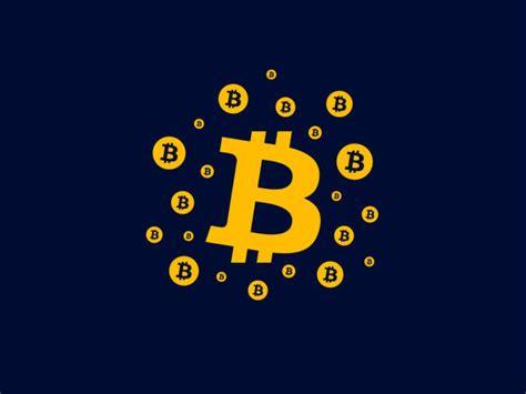bitcoin wallet illustrations royalty  vector graphics