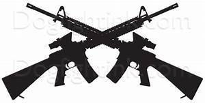 The gallery for --> Infantry Crossed Rifles Silhouette