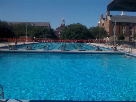 smu barr outdoor pool swimming pools university park