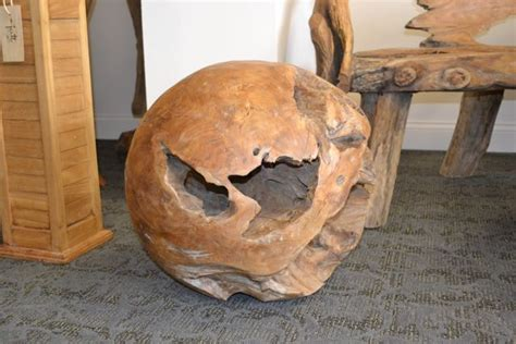 teak root ball handmade  natural root decoration