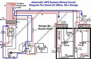 U0026gt  Circuits  U0026gt  Automatic Ups System Wiring Circuit Diagram New Design Very Simple For Home Or
