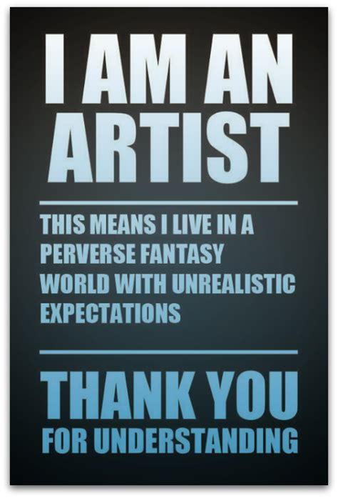 Artist Meme - expectations studio mothers life art