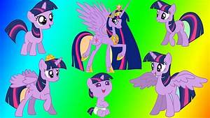 Coloring My Little Pony Princess Twilight Sparkle