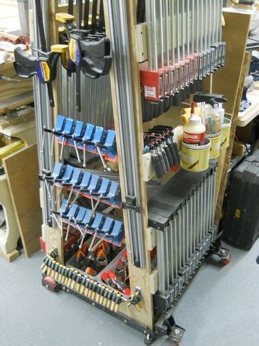By april wilkerson on august 09, 2015. Clamp rack or mobile clamp rack - by Diggerjacks ...