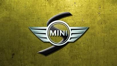 Cooper Mini Glassy Logos