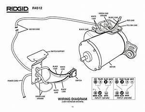 Ryobi Table Saw Wiring Diagram