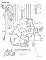 Coloring Helping Others Lds Temple Children Drawing Serving Hurt Primary Printable Colouring Bullying Paintingvalley Anti Getcolorings Line Lessons Explore Colori sketch template