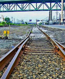 Manual Track Switch  U0026 Guard Rail