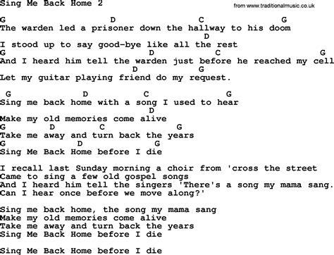 Sing Me Back Home 2 By Merle Haggard