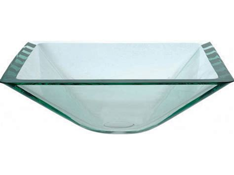 is a mounting ring necessary for vessel sink kraus aquamarine square clear glass vessel sink with drain