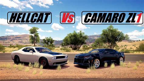 Fh3- 2015 Dodge Hellcat Vs 2017 Camaro Zl1