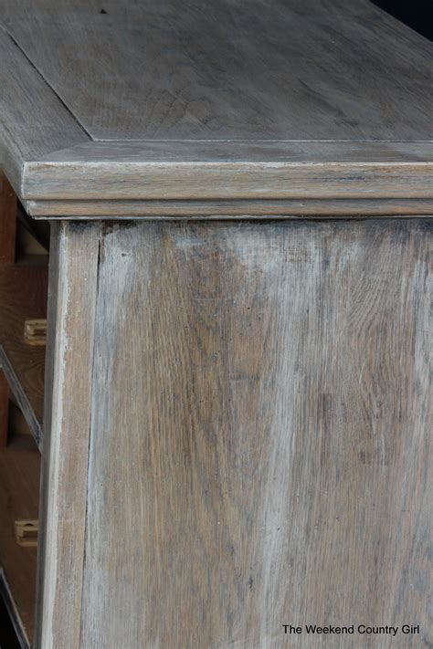Pickled Oak Cabinets Kitchen by Remodelaholic How To Achieve A Restoration Hardware