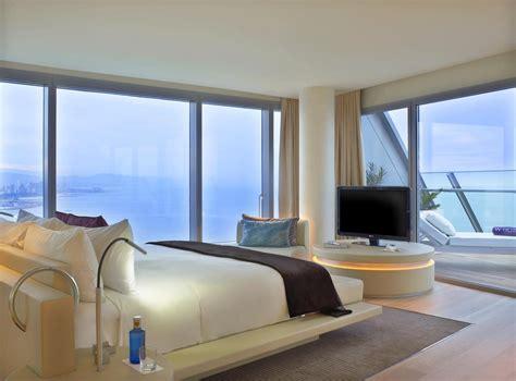hotel w barcelone chambre et terrasse je vis à barcelone