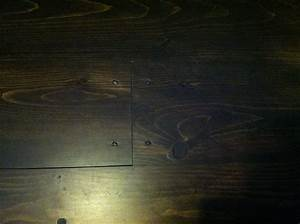 11 best images about custom floor stain pine on pinterest for Pine floors stained dark