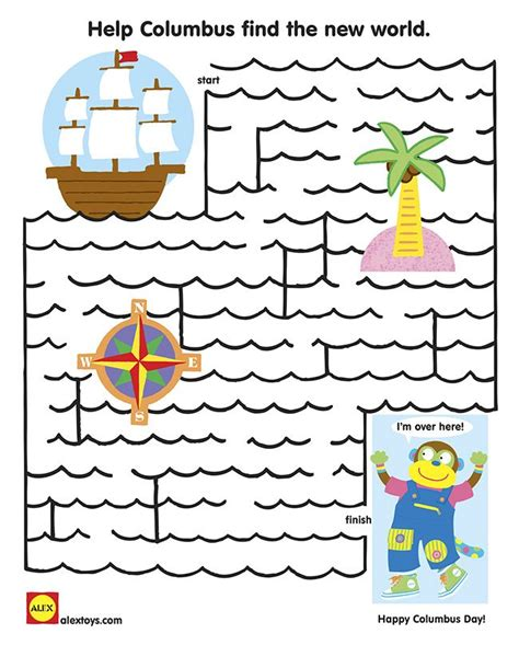Boat Song Crossword by Help Columbus Ship Get To The New World In This